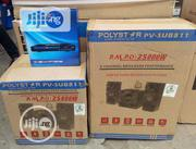 Polystra 2500W DVD Home Theater Bass Blast Bluetooth 2years Warranty   Audio & Music Equipment for sale in Lagos State, Ojo