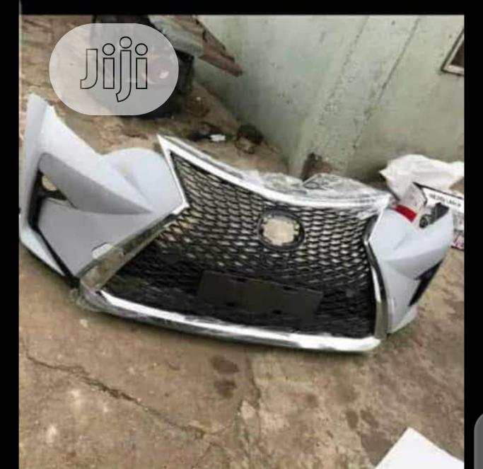 Complete Upgrade Kit Front Bumper.Rx350 2017