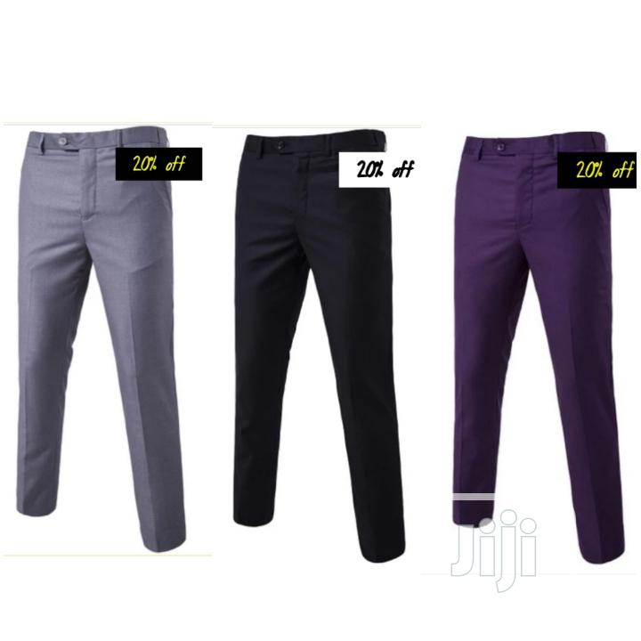 Set of 3n1 Smart Suit Trousers for Men