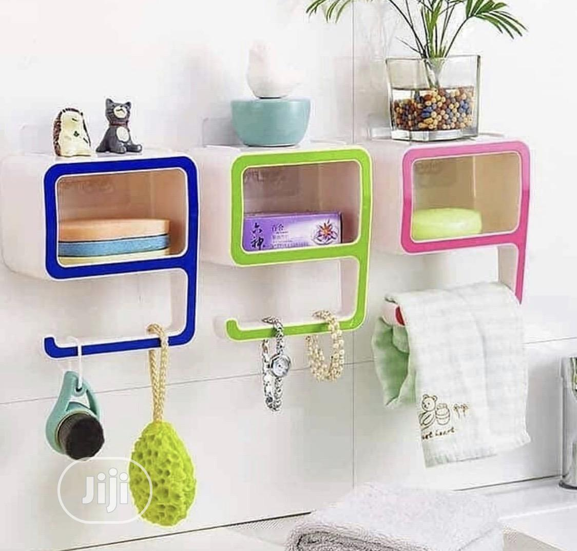 Multipurpose Wall Suction Shelves | Furniture for sale in Lagos Island (Eko), Lagos State, Nigeria