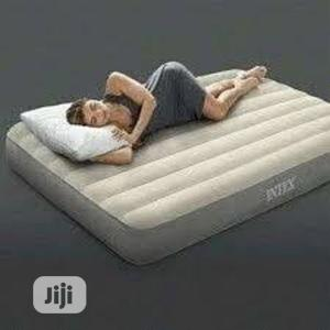 Deluxe 6ft By 4ft Airbed With Pump Intex | Furniture for sale in Lagos State, Ikeja