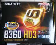 Gigabyte B360 HD3 Motherboard Ultra Durable | Computer Hardware for sale in Lagos State, Ikeja