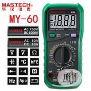 Mastech MY60 Digital Multimeter Current Resitance Meter Tester | Measuring & Layout Tools for sale in Lagos State, Ikeja