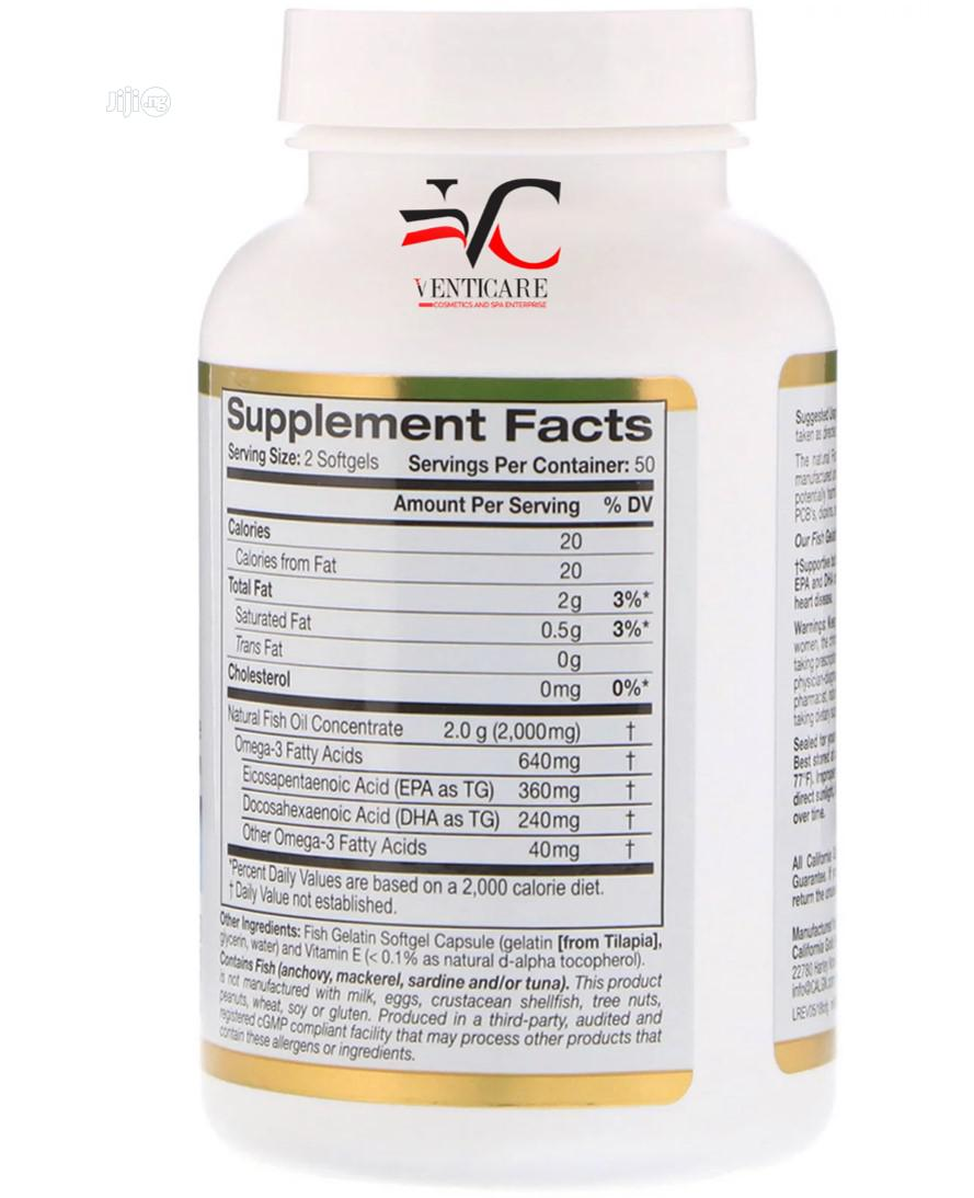 CGN Omega-3 Premium Fish Oil, 100 Fish Gelatin Softgels   Vitamins & Supplements for sale in Ojo, Lagos State, Nigeria