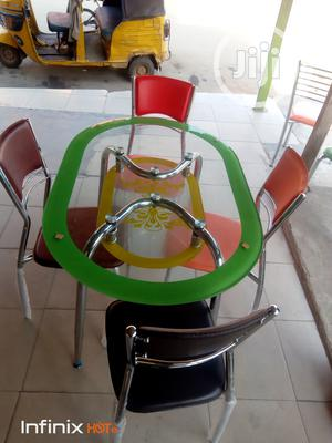 Good Quality Glass Dinning Table With 4 Chairs. | Furniture for sale in Abuja (FCT) State, Gwarinpa