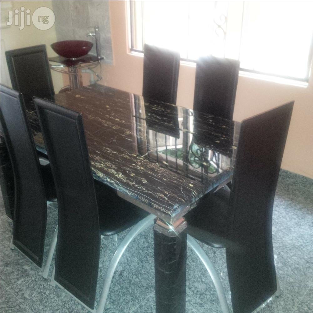 Marble Dinning Table Set | Furniture for sale in Lagos State, Nigeria