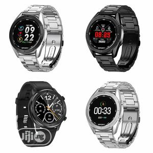 DT99 Full Round Smartwatch Health Care Fitness Tracker IPX8 Waterproof | Smart Watches & Trackers for sale in Lagos State, Ikeja