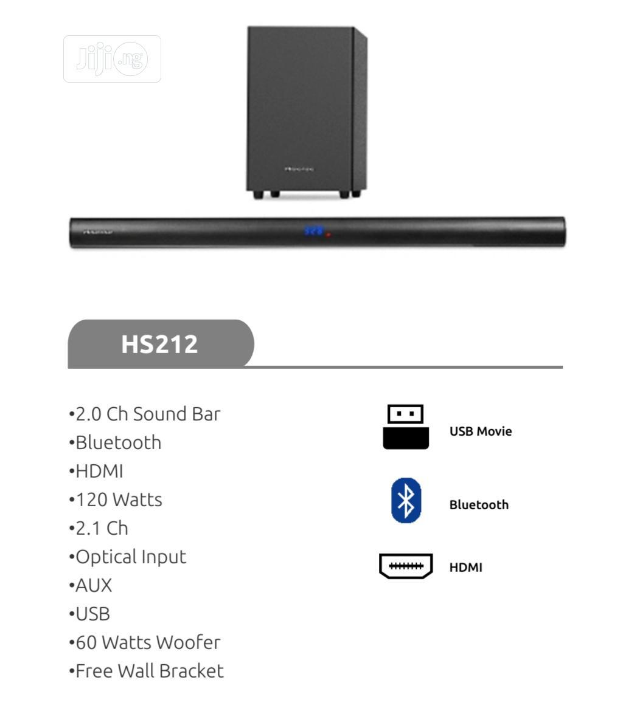 Hisense 120W 2.1CH Soundbar (Aud 212) With 1 Year Warranty