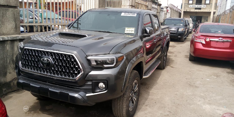 Toyota Tacoma 2019 Gray