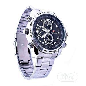 32GB Waterproof Hidde/Spy Camera Wrist Watch | Security & Surveillance for sale in Imo State, Owerri