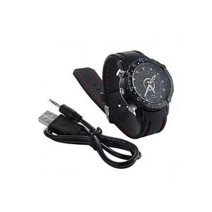 Hp Dvr 8GB Waterproof Hidden Camera Recording Wrist Watch -black | Security & Surveillance for sale in Imo State, Owerri