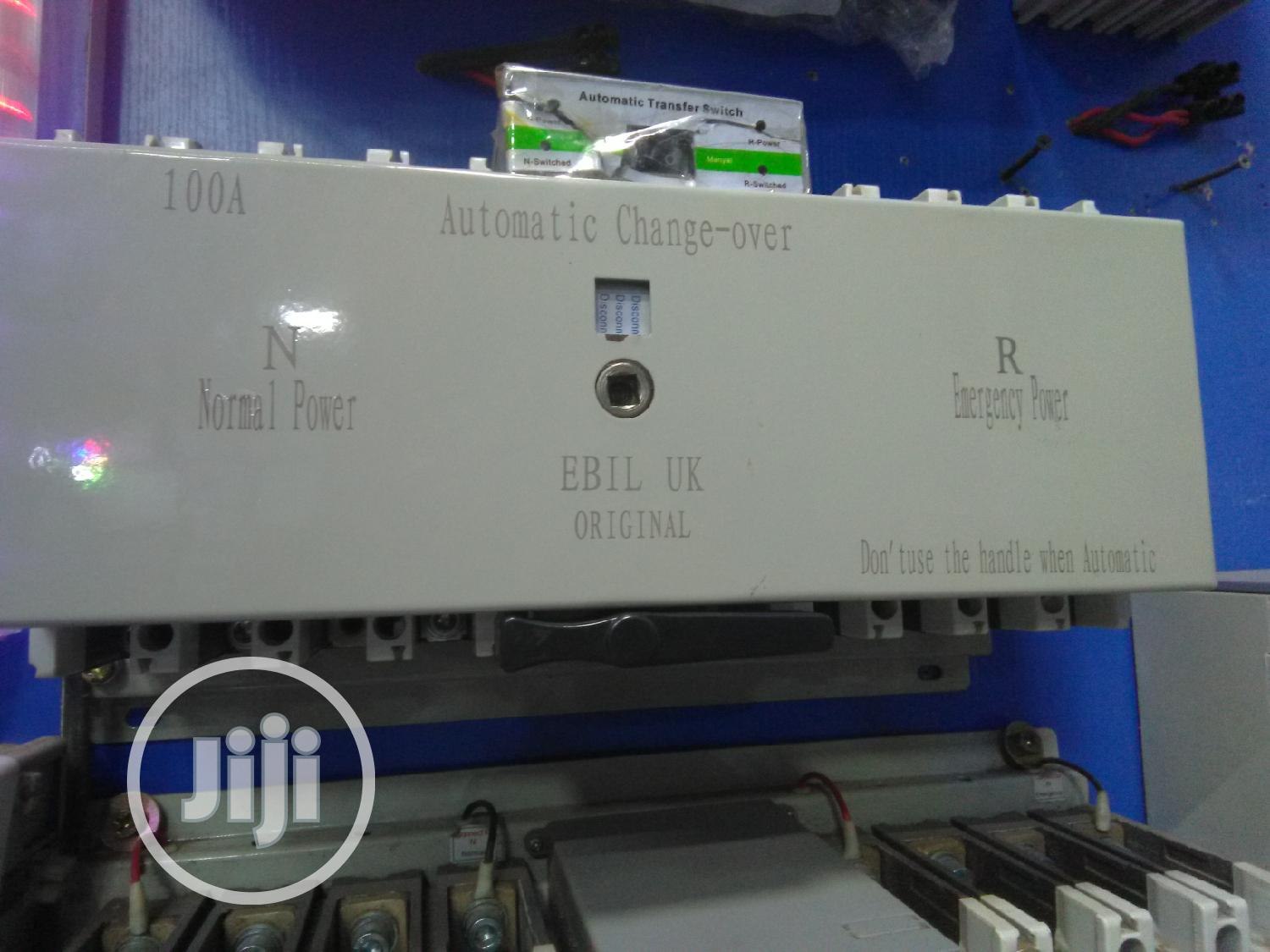 100amps Automatic Changeover
