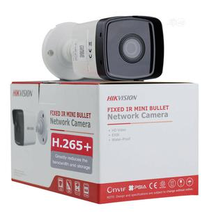 Hikvision 4MP 4mm Outdoor Bullet Camera, H.265+, 30m IR   Security & Surveillance for sale in Lagos State, Ikeja