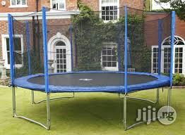 Standard Heavy Duty 15ft Trampoline Set   Sports Equipment for sale in Rivers State, Port-Harcourt