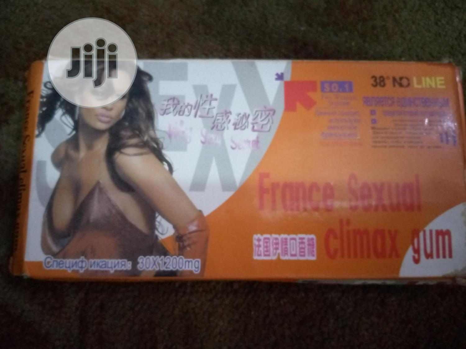 France Sexual Climax Gum