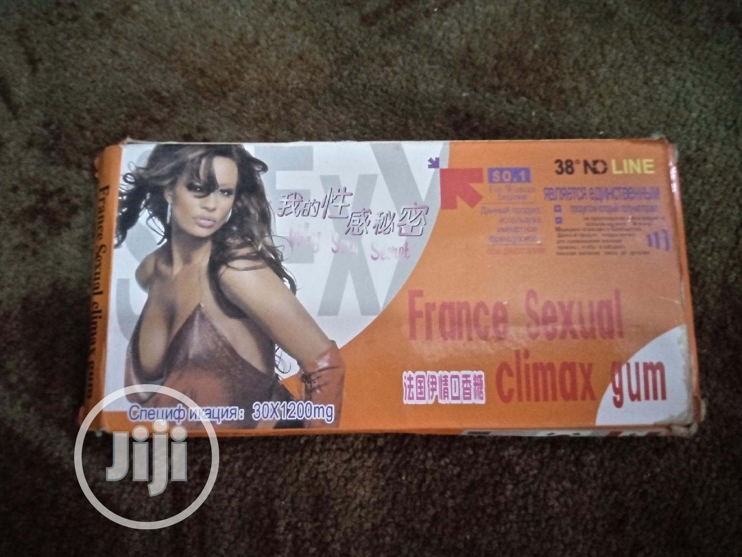 France Sexual Climax Gum | Sexual Wellness for sale in Port-Harcourt, Rivers State, Nigeria