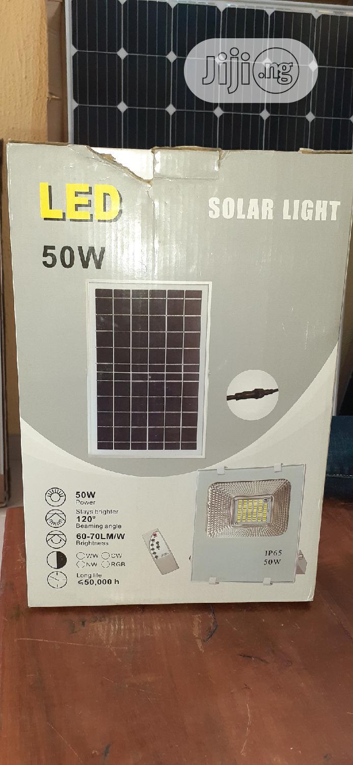 50watts All In One Solar Flood Light   Solar Energy for sale in Ikoyi, Lagos State, Nigeria