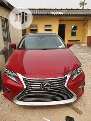 Lexus ES 2016 350 FWD Red   Cars for sale in Lagos State, Surulere