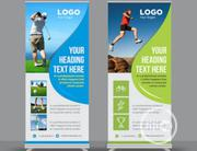 Rollup Banners. | Manufacturing Services for sale in Lagos State, Ikeja