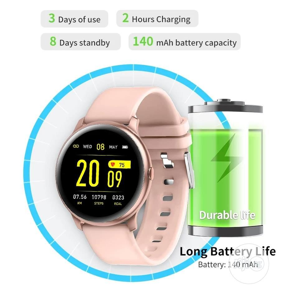 Dt88 2020 Smartwatch Blood Pressure Heart Rate Monitor Ip68 Waterproof | Smart Watches & Trackers for sale in Ikeja, Lagos State, Nigeria