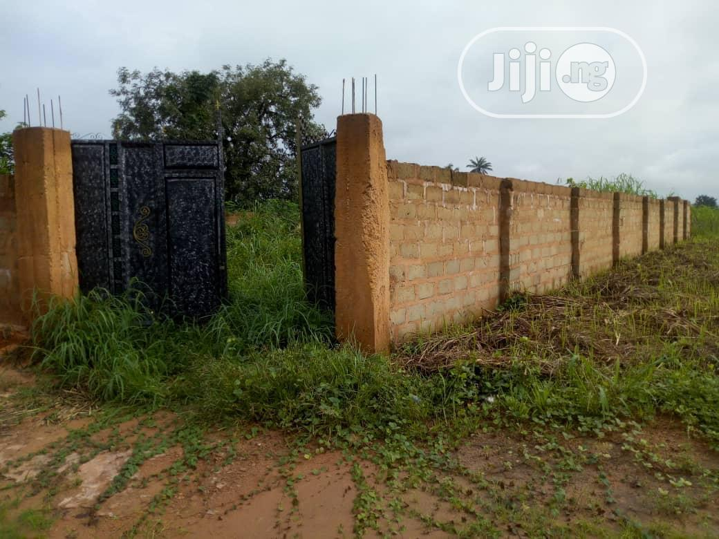 1 Plot of Fenced Land, Gate House in Awka Amansea for Sale