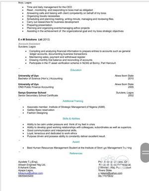 Visa Manager | Travel & Tourism CVs for sale in Lagos State, Surulere