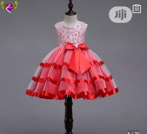 Princess Gown - Red | Children's Clothing for sale in Lagos State, Ikeja