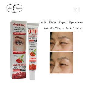 Goji Berry Eye Cream, Anti Puffy and Dark Circle Remover | Skin Care for sale in Lagos State, Mushin