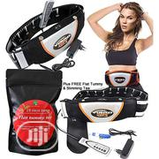Vibro Shape Slimming Belt With Free Flat Tummy Tea | Tools & Accessories for sale in Lagos State, Lagos Island