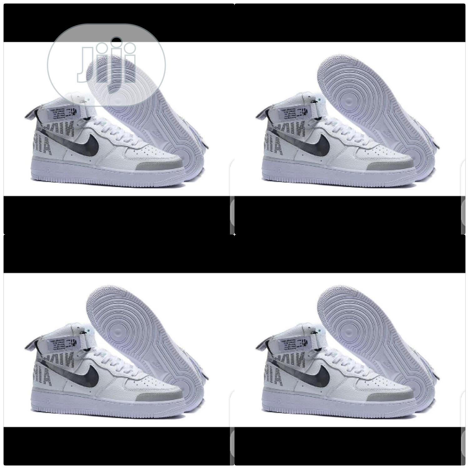 Nike Air Force 1 High Top Sneakers Original | Shoes for sale in Surulere, Lagos State, Nigeria