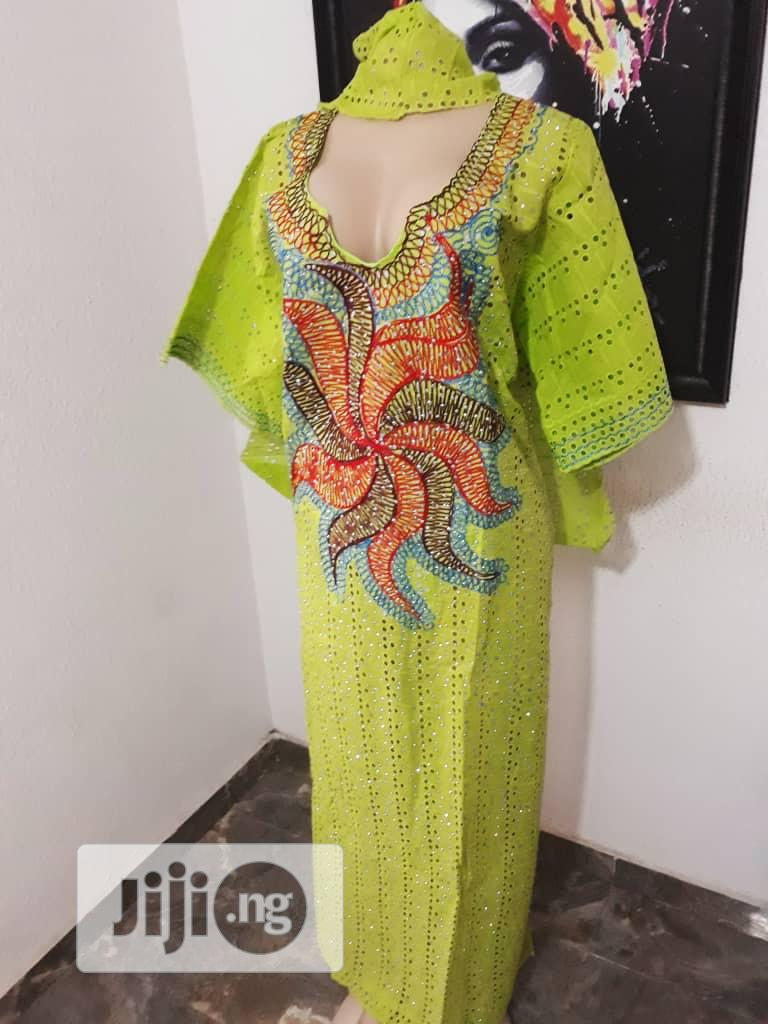 Unique Stoned Dry Lace | Clothing for sale in Ikeja, Lagos State, Nigeria