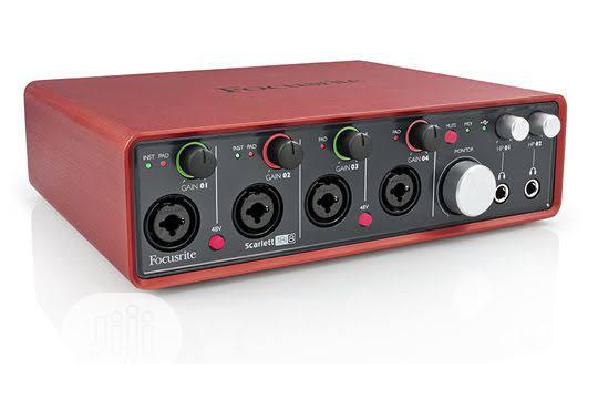 Archive: Scarlet 18i8 Sound Card Audio Interface