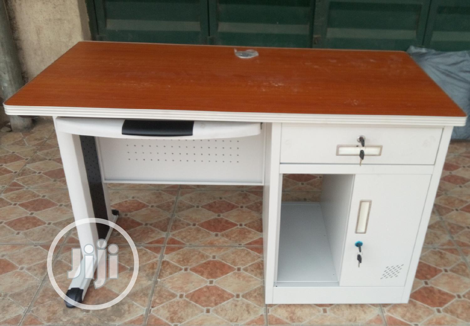 Superb 4ft Metal Office Table Brand New