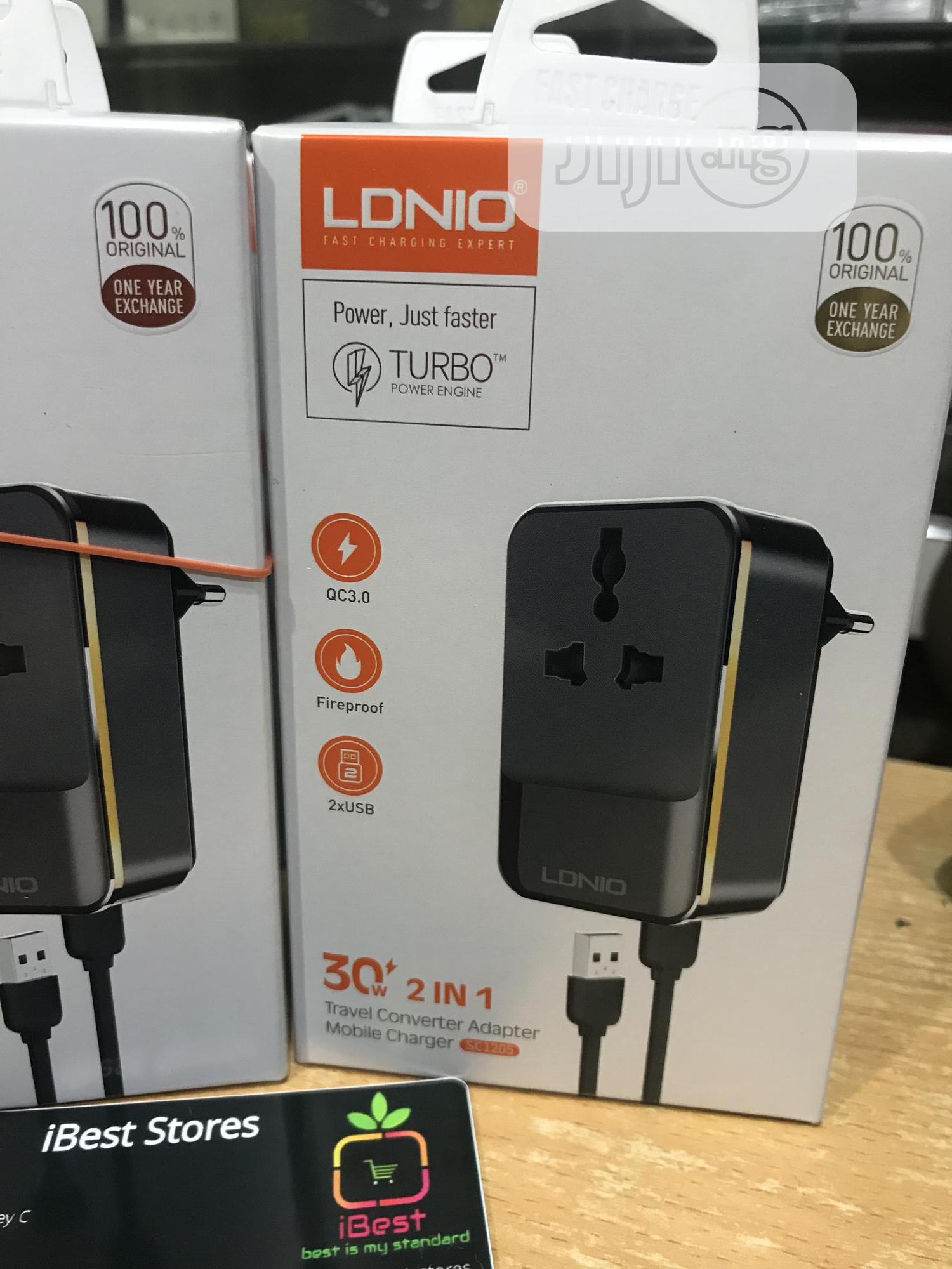 Ldnio Fast Travel Charger Adapter