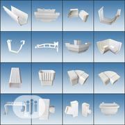 Supplier Of Plastic/ PVC Gutters & Accessories | Building Materials for sale in Lagos State, Lagos Island