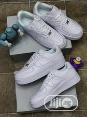 Nike Air Force 1 All White Sneakers Original | Shoes for sale in Lagos State, Surulere