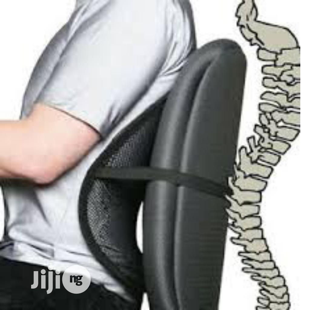 Car Office Home Seat Lumbar Waist Back Chair Support Lumbar Pillow   Tools & Accessories for sale in Lagos Island (Eko), Lagos State, Nigeria