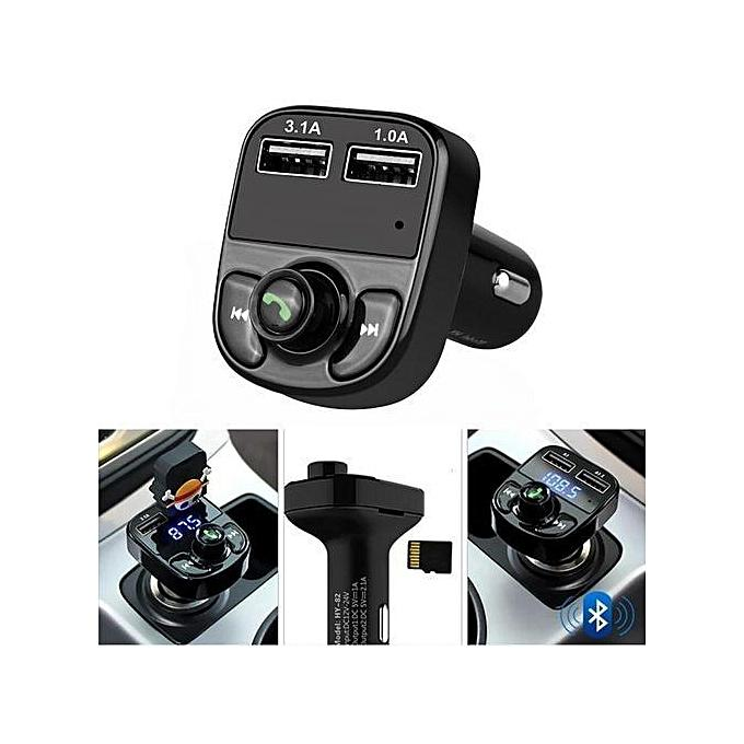 X8 Bluetooth Car MP3 Player FM Transmitter | Accessories for Mobile Phones & Tablets for sale in Ikeja, Lagos State, Nigeria