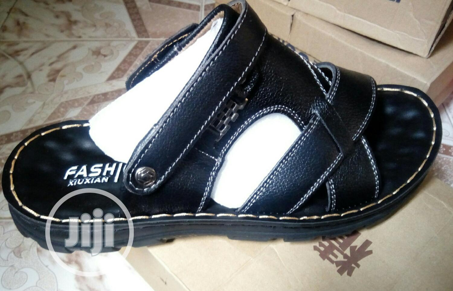 Affordable Leather Sandals With Good Quality | Shoes for sale in Benin City, Edo State, Nigeria