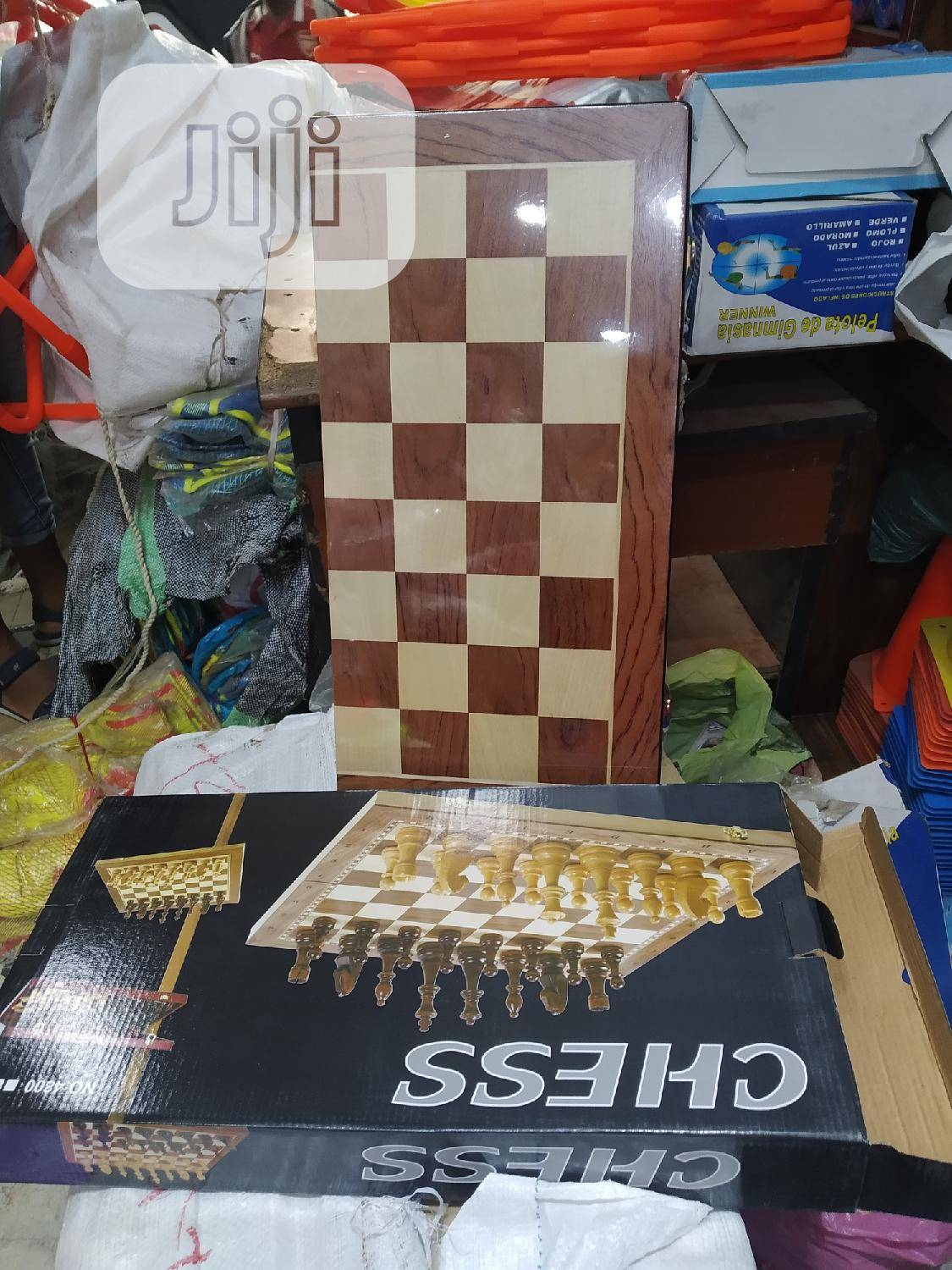 Big Size Chess | Books & Games for sale in Surulere, Lagos State, Nigeria