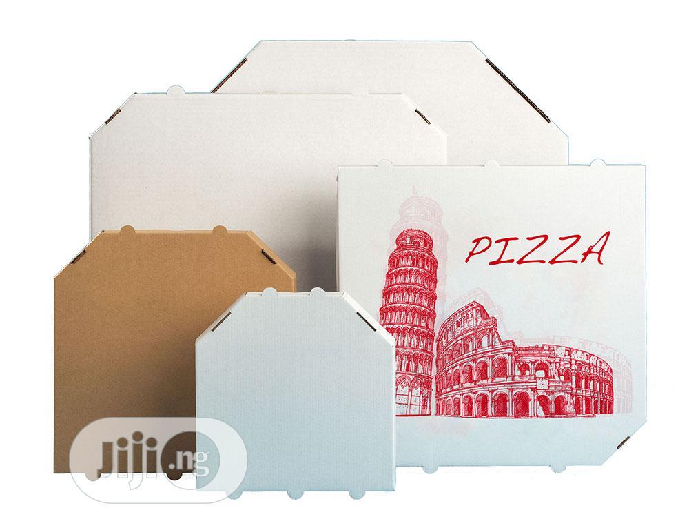 Archive: White Or Brown Pizza Box