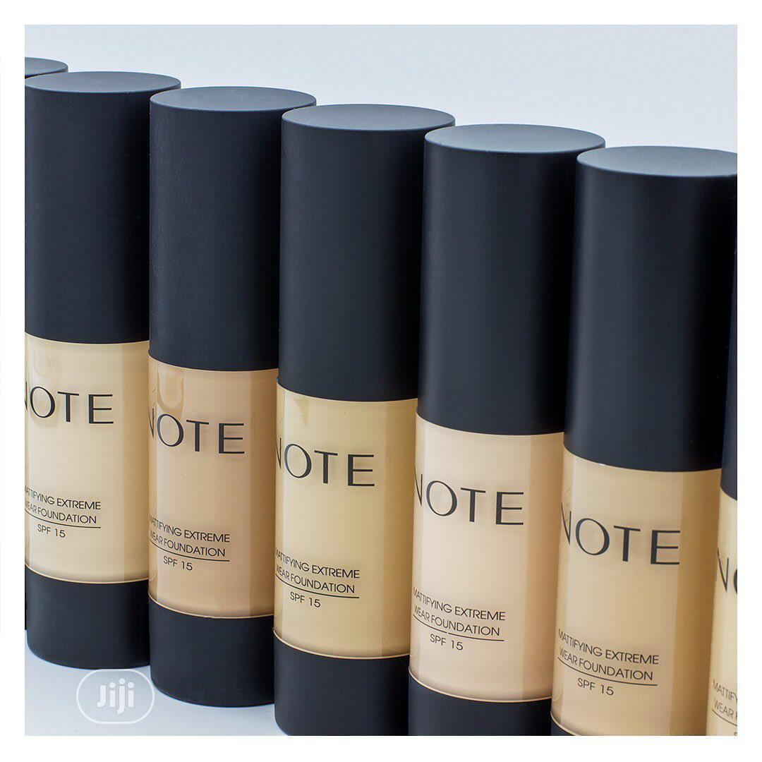Note Mattifying Extreme Wear Foundation   Makeup for sale in Lagos State, Nigeria