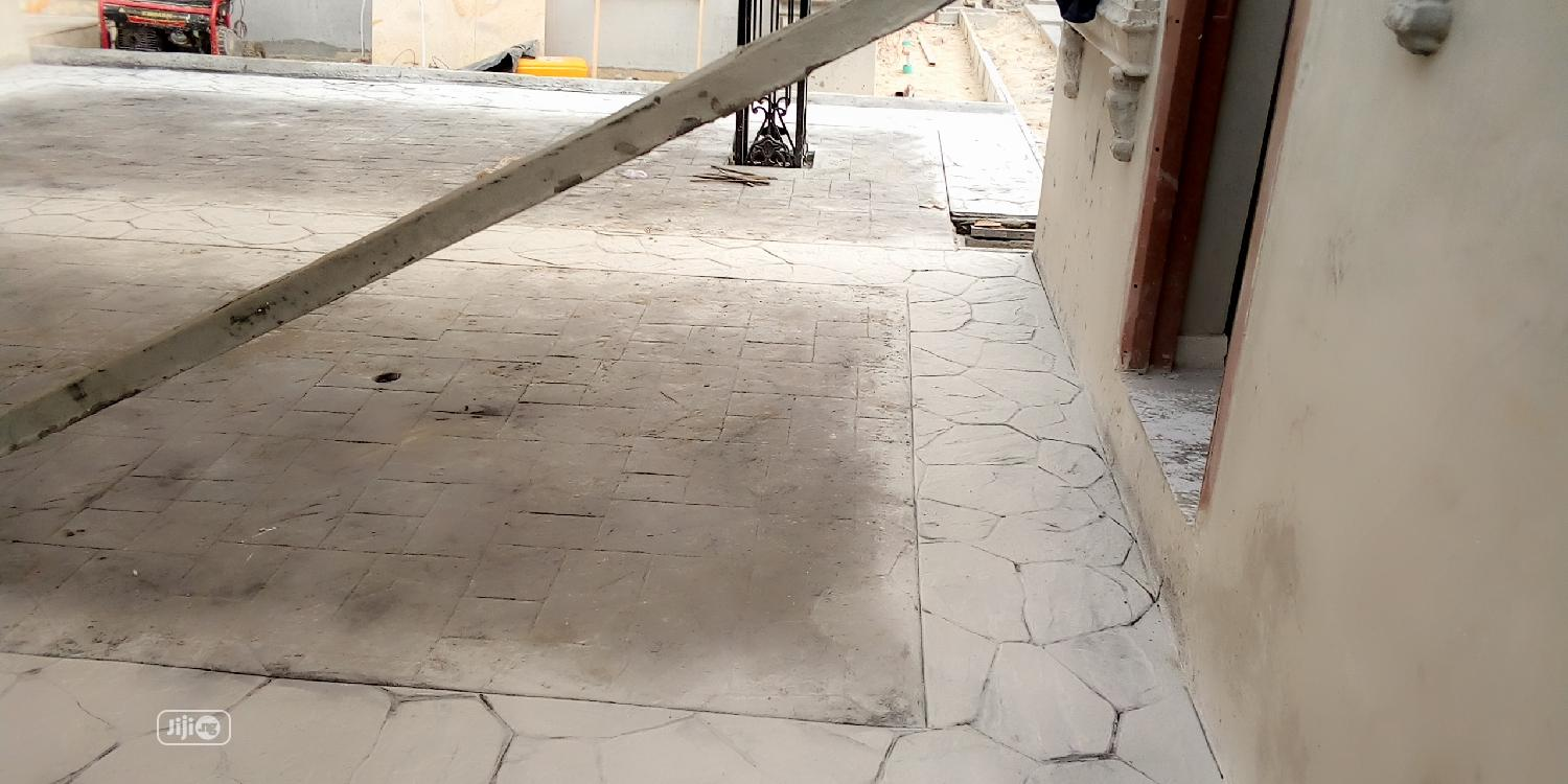 Stamp Floor Concrete Design | Gardening & Landscaping Jobs for sale in Lekki Phase 2, Lagos State, Nigeria