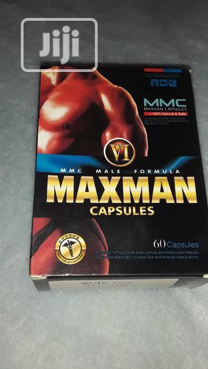 Maxman VI Gold Enlargement/ Big Size 60 Capsules | Sexual Wellness for sale in Lagos State, Yaba