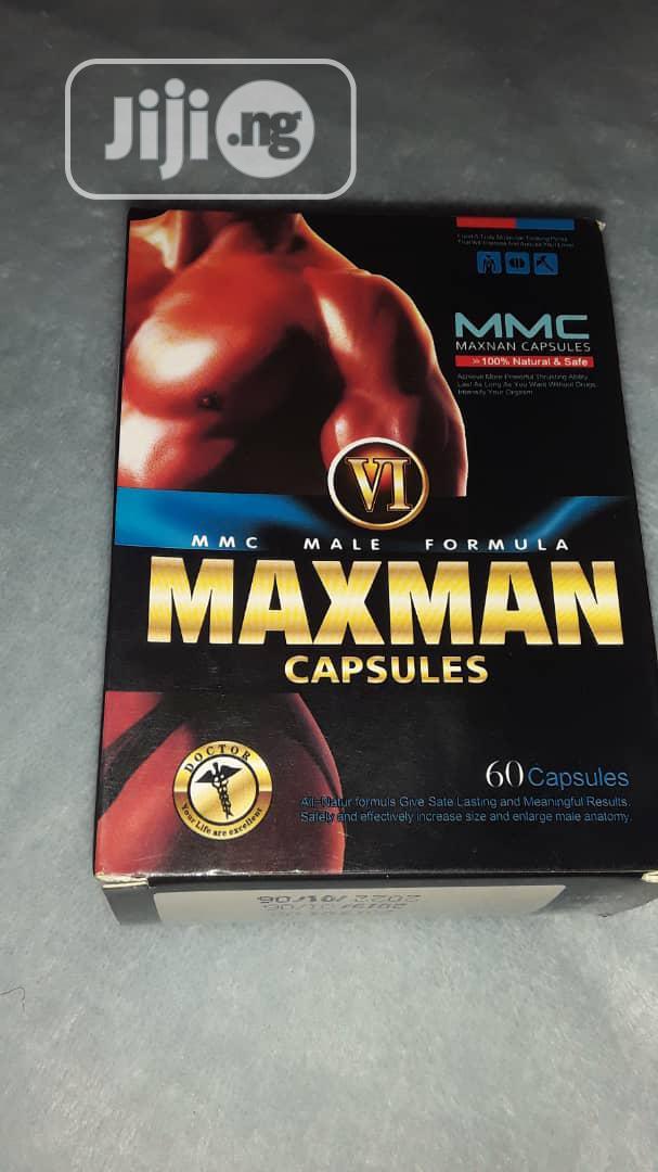 Maxman VI Gold Enlargement/ Big Size 60 Capsules