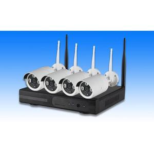 Wifi Nvr 4 Channel Wireless Combo Kit (Day and Night Vision) | Security & Surveillance for sale in Lagos State, Ikeja