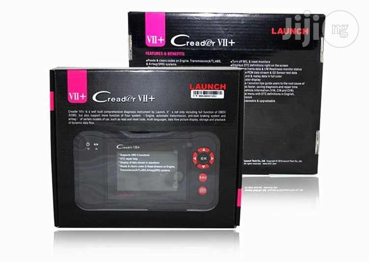 Car Scanner Launch Creader VII+ | Vehicle Parts & Accessories for sale in Central Business Dis, Abuja (FCT) State, Nigeria