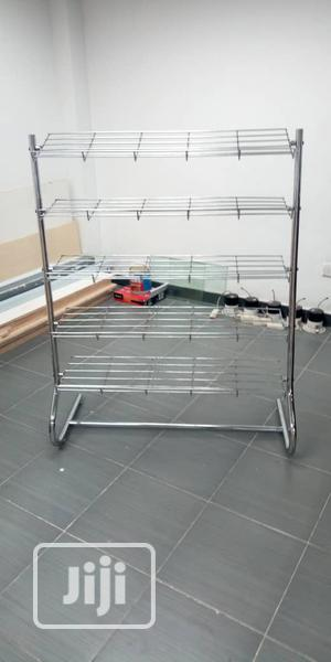 Silver Stainless Clothes Ras Stand | Home Accessories for sale in Lagos State, Lagos Island (Eko)