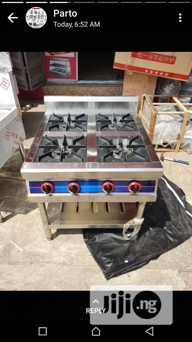 Gas Cooker 4 Burner