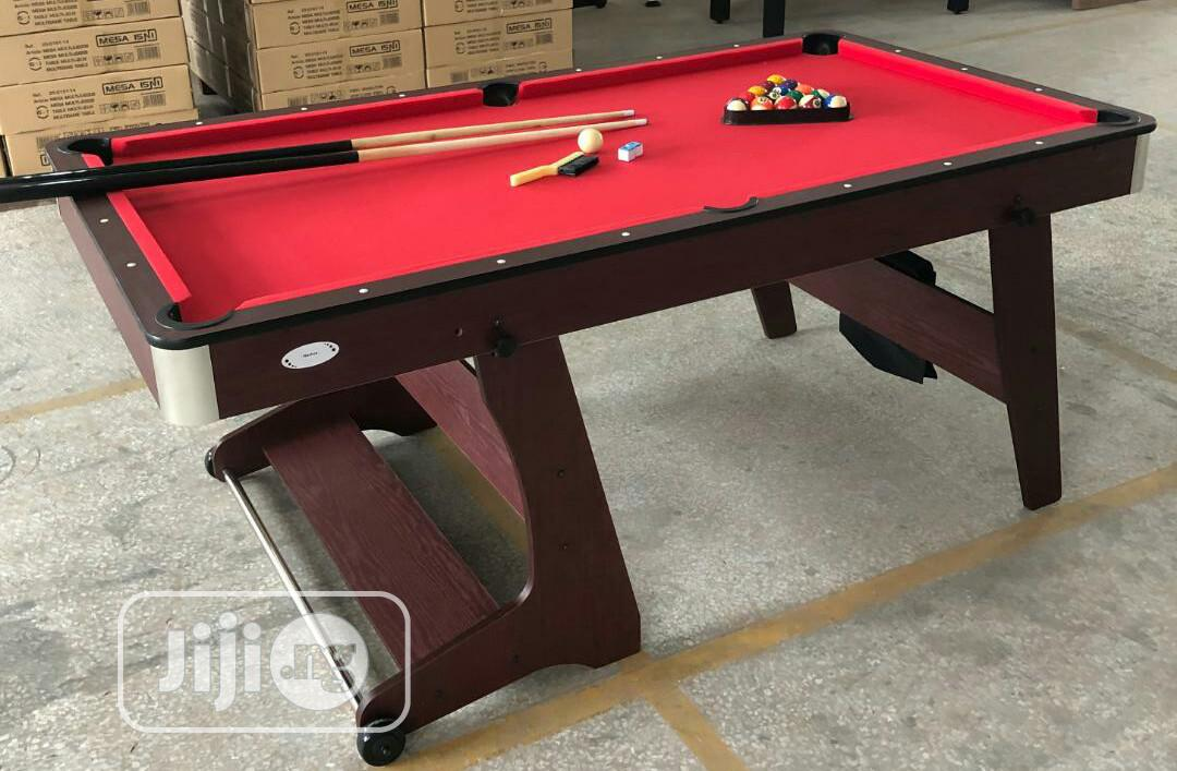 Brand New 6ftx3ft Snooker Pool Table With Complete Acessories